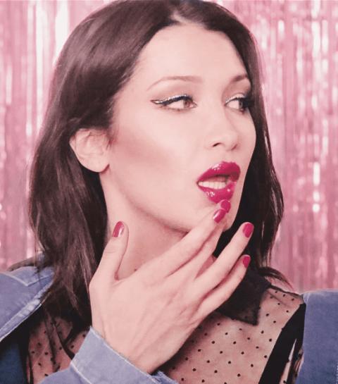 Tuto : comment obtenir la bouche pulpeuse de Bella Hadid ?
