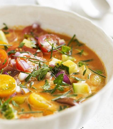 10 soupes froides sucrées ou salées