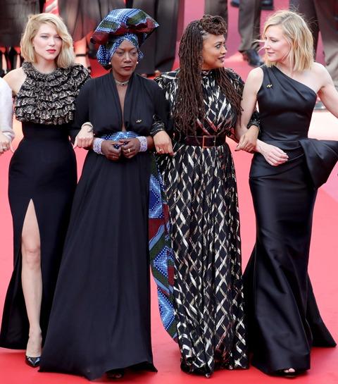 Femmes à Cannes: le festival en chiffres symboliques