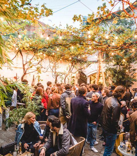 Casa Corona: le pop up bar rafraîchissant au coeur de Bruxelles