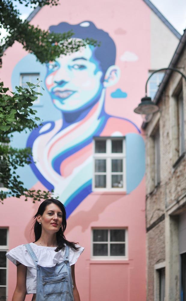 On adore: la nouvelle fresque bruxelloise pour la cause LGBTQI+ - 1