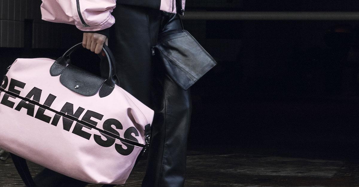 Longchamp Streetwear OliverLa Collab' Shayne À Louper Pas Ne By shdCotBQxr