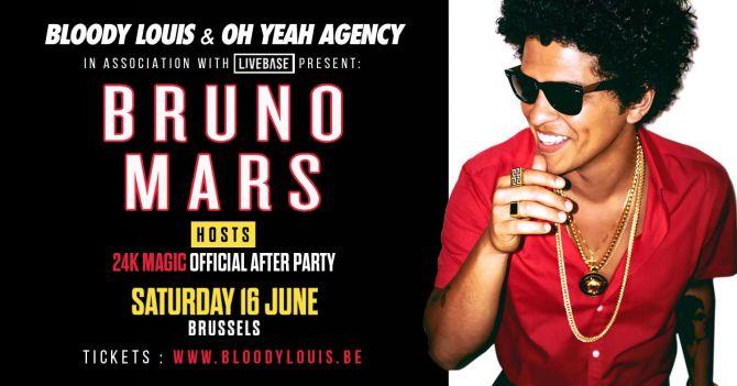 Bruno Mars déboule au Bloody ce samedi - 2