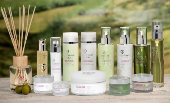Amore Puro : la marque de cosmétiques faits d'amour et d'olives - 1