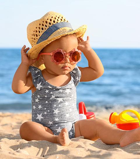 8 règles pour protéger correctement son bébé du soleil