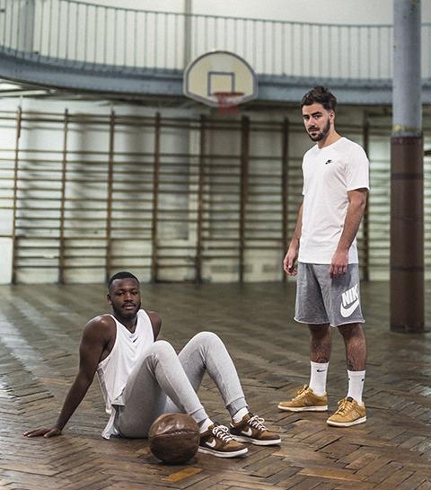 Nike crée des sneakers inspirées du plus vieux terrain de basketball au monde