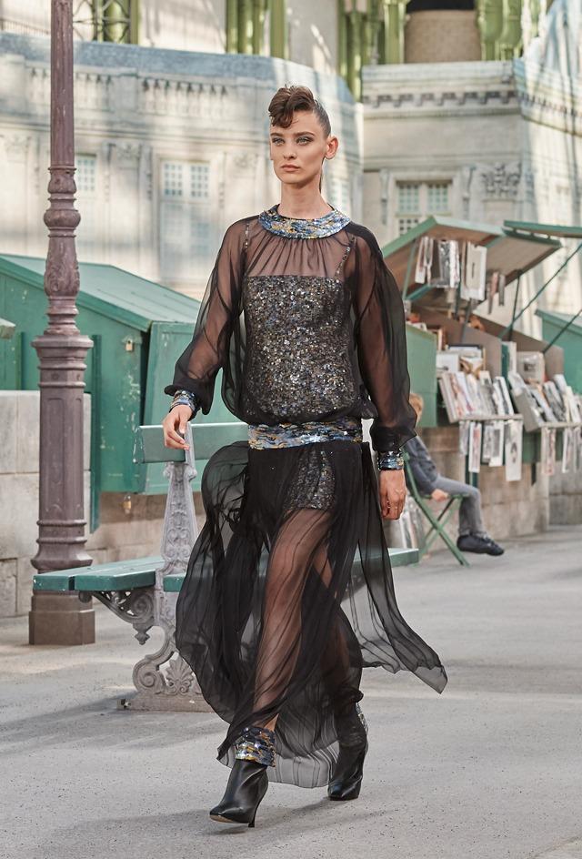 Haute Couture : le Roman Chanel AH18-19 - 2