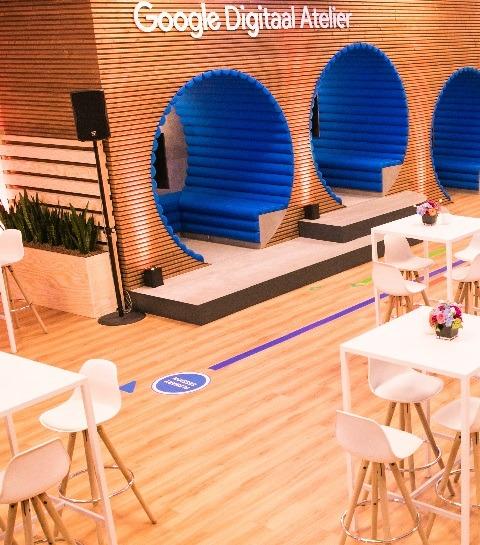 Un nouvel Atelier Digital de Google à Bruxelles