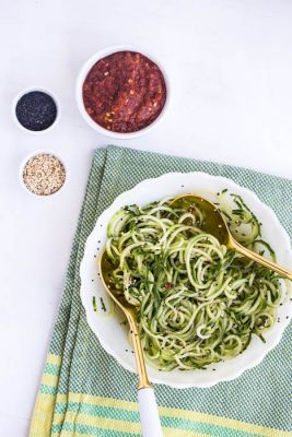 Sesame-Marinated-Cucumber-Noodles
