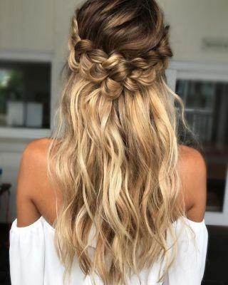 20 Coiffures De Mariée Sublimes Pour Cheveux Longs Ellebe
