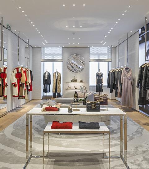 Dior dévoile sa nouvelle boutique au coeur de Bruxelles