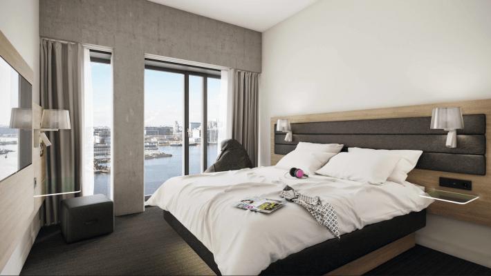 Moxy-Amsterdam-chambre