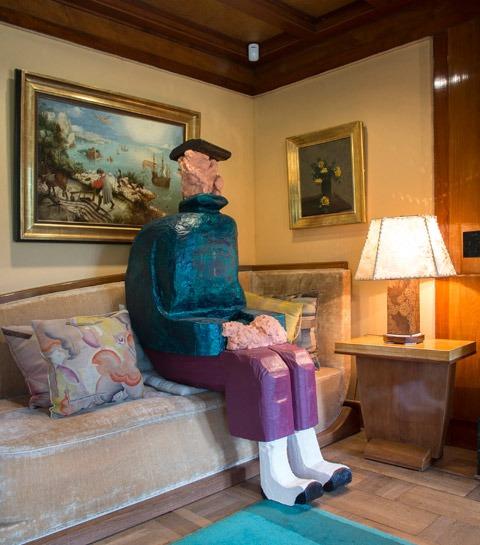 Le Musée et Jardins Van Buuren : quand l'art s'invite à la maison