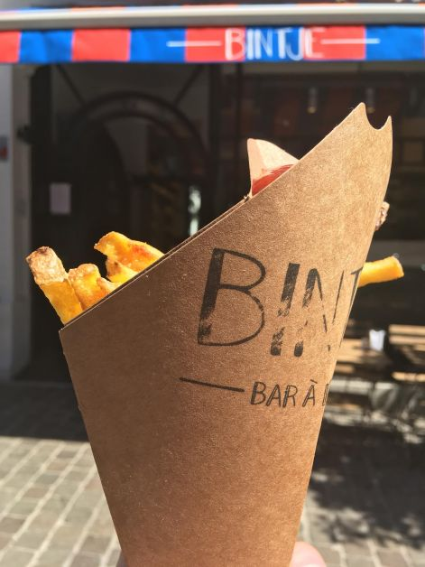 Bintje - bar à frites à Bruxelles