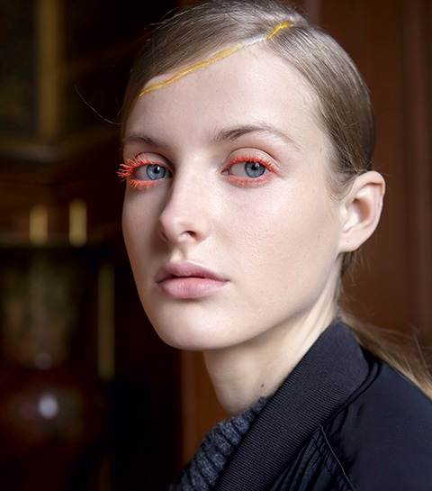make-up du défile de Dries Van Noten