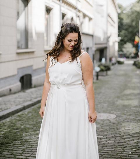 Où trouver une robe de mariée grande taille à Bruxelles ?