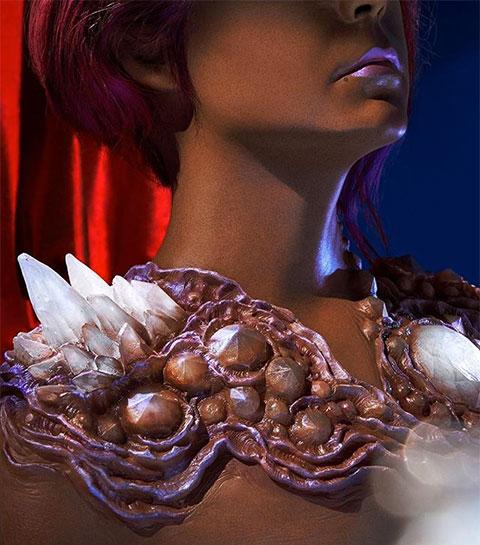 Que pensez-vous des étranges bijoux de peau signés A.Human ?