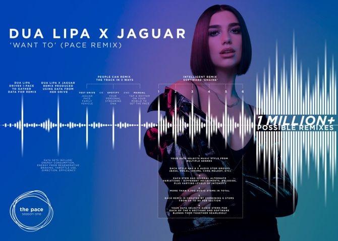 Les données de la Jaguar