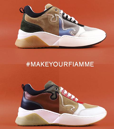 #MakeYourFiamme: l'outil qui crée les sneakers de nos rêves