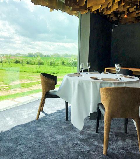 Le meilleur restaurant de Belgique : L'air du temps