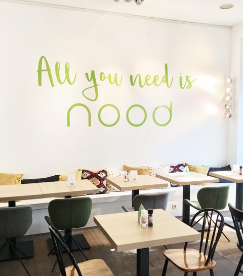 Nood: le nouveau salad bar idéal pour un lunch express
