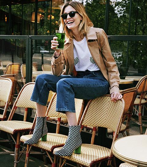 La collab' qui claque: des chaussures signées Sarenza x Elise Chalmin