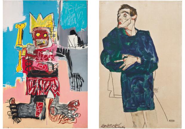 Expos Schiele et Basquiat