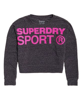 Sweat de sport court Superdry
