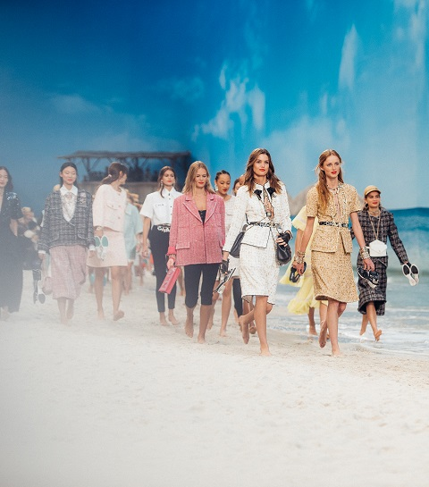 Chanel et les filles du bord de mer