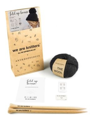 We Are Knitters – Fold up beanie kit