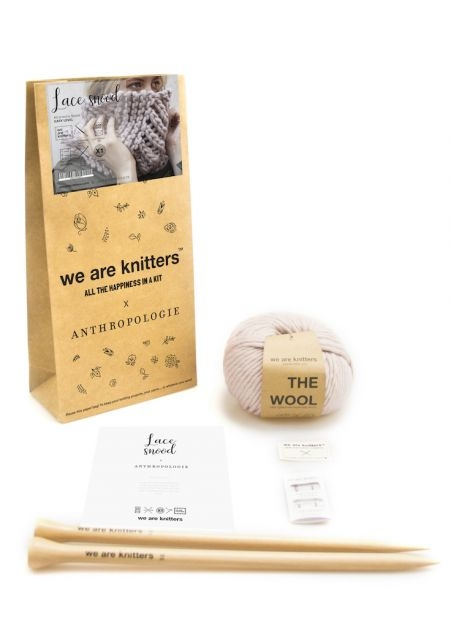 We Are Knitters – Lace snood kit