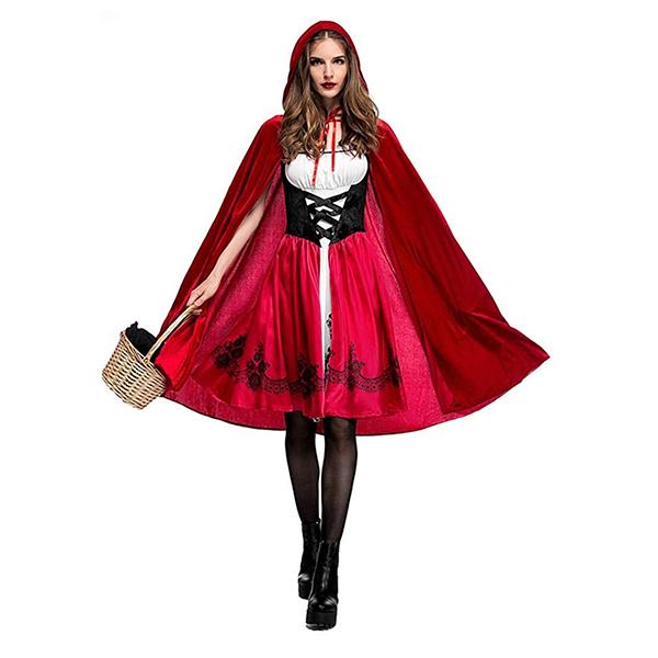 costume halloween petit chaperon rouge