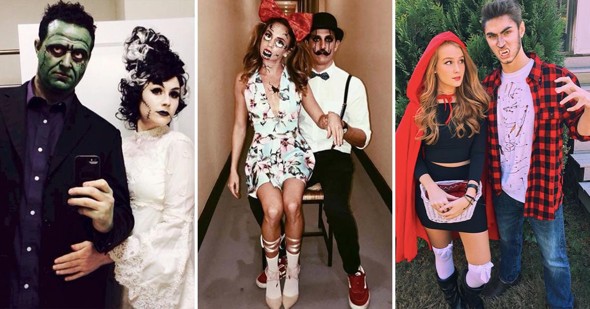 10 Idees De Costumes De Couple Pour Halloween Elle Be