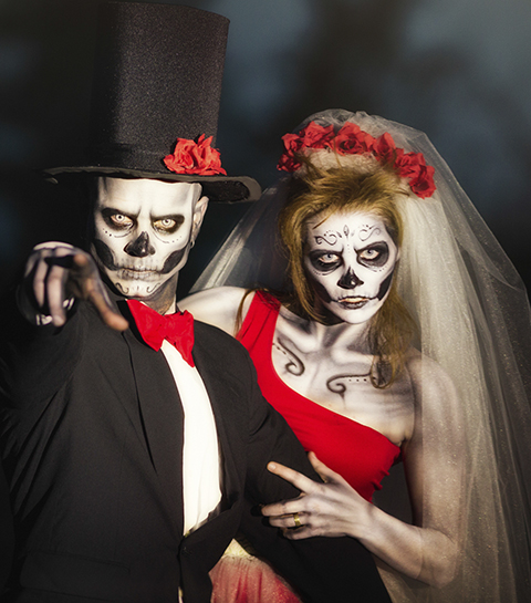 10 idées de costumes de couple pour Halloween