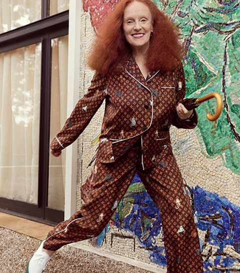 Interview: Grace Coddington nous parle de sa collection « chats » pour Louis Vuitton