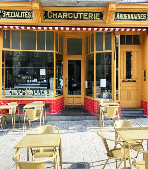 On a découvert le restaurant-épicerie La Charcuterie à Bruxelles