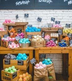 Lush inaugure une boutique sans plastique