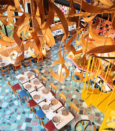 Le nouveau restaurant aménagé par Lionel Jadot: Le Pesage
