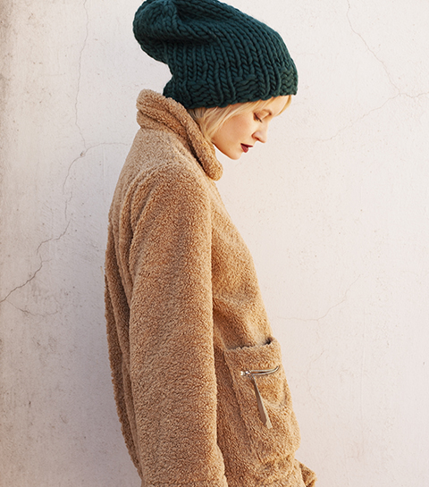 We Are Knitters x Anthropologie : la collab' DIY pour les frileuses stylées
