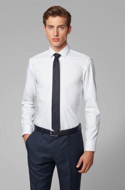 chemise blanche hugo boss