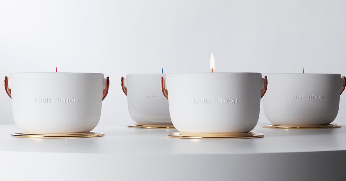 Objet du désir : la bougie parfumée Louis Vuitton - 1