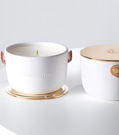 Objet du désir : la bougie parfumée Louis Vuitton
