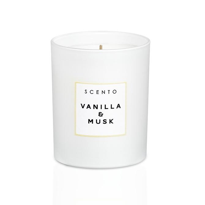Bougie parfumée Vanilla & Musk