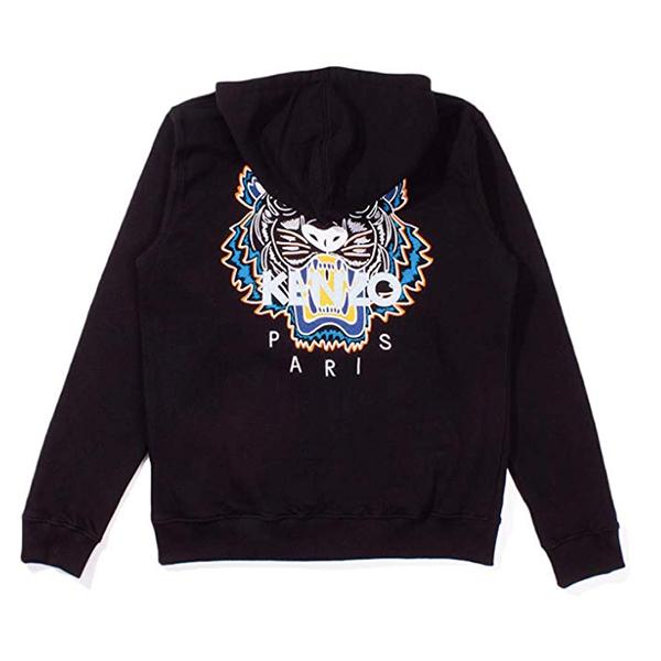 sweatshirt noir kenzo