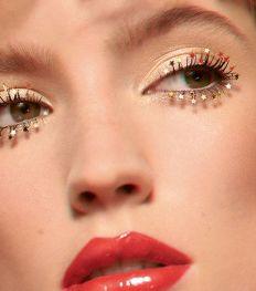 EXCLUVITé ELLE : les plus beaux make-up des fêtes par Dior