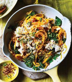 Comfort food: 12 idées de plats à base de spaghettis de légumes
