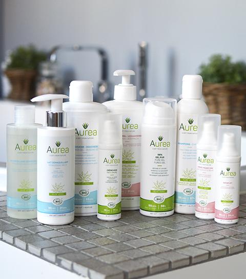 Auréa: la marque belge et bio à base d'Aloe Vera