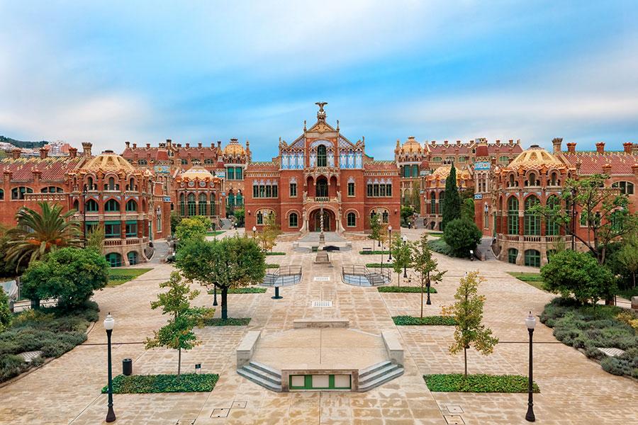 Le site de Sant Pau Art Nouveau est bien connu des amateurs d'art sous le nom d'Hôpital de Sant Pau.