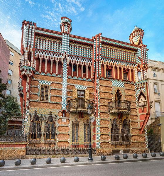 Un élégant bâtiment moderniste aujourd'hui transformé en musée.