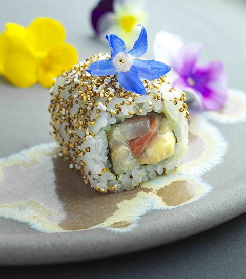 Les sushis du chef trois étoiles Mauro Colagreco pour Sushi Shop